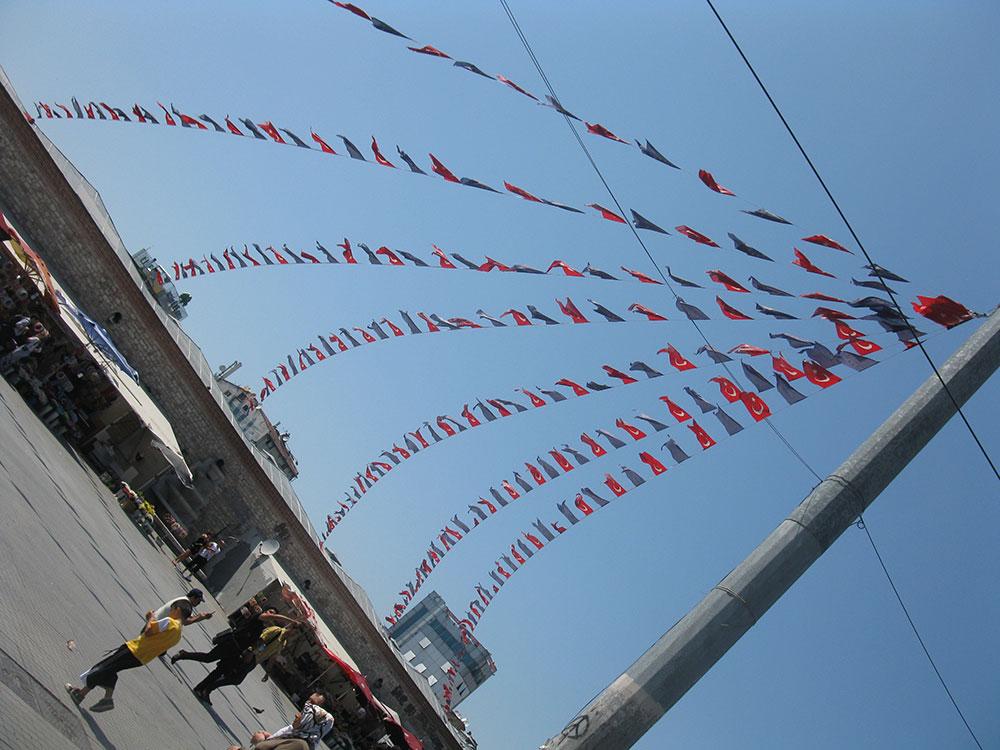 Trg Taksim, Istanbul, foto: Peščanik