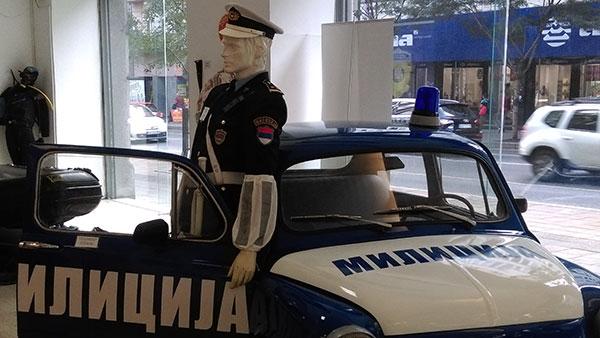 """Sa izložbe """"Istorija policije u Srbiji"""""""