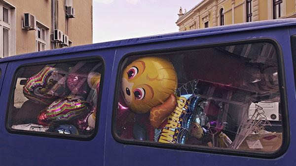 kombi pun dečijih balona