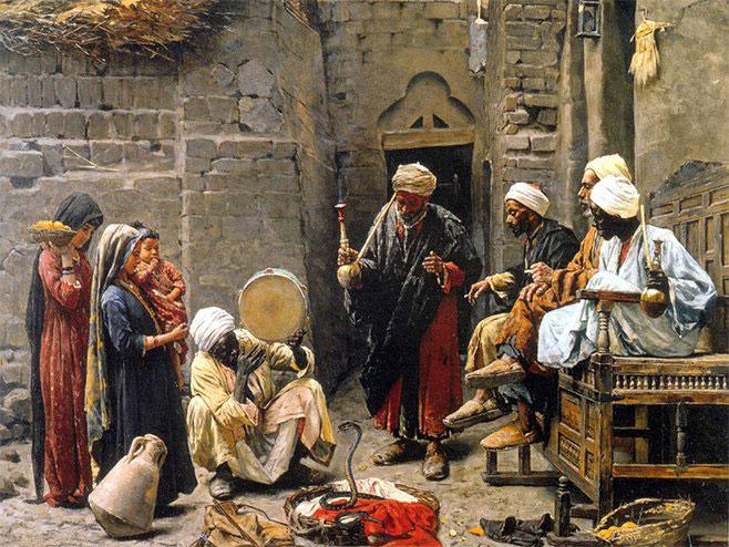 Paja Jovanović, Ukrotitelj zmija, 1887.