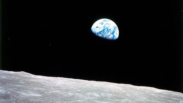 Izlazak Zemlje sa Meseca, Božić 1968, Apolo 8