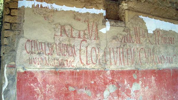 Pompeji, predizborni grafiti