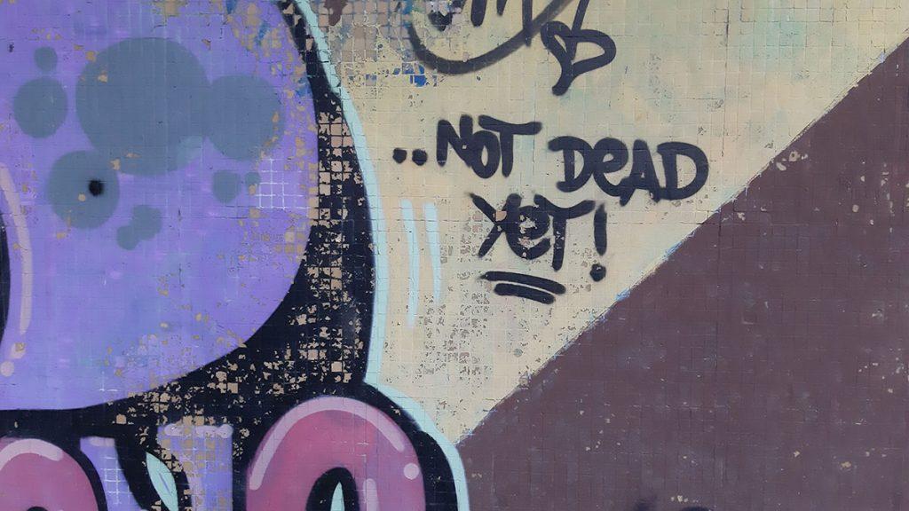 Nisam mrtav, još uvek, foto: Peščanik