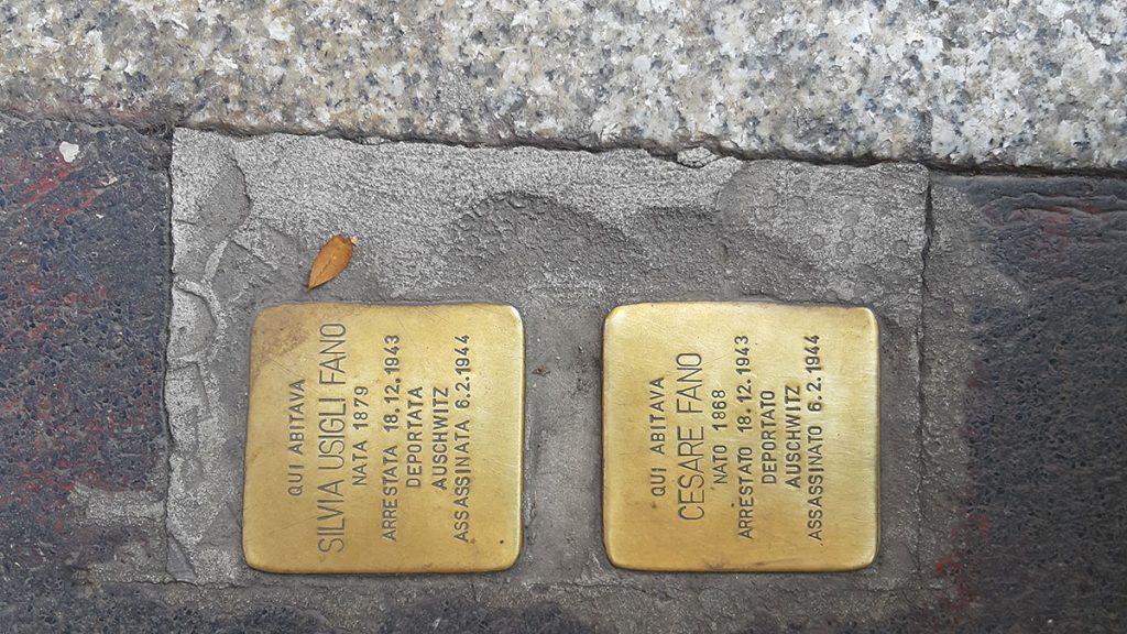 Stolpersteine, Milano, foto: Peščanik