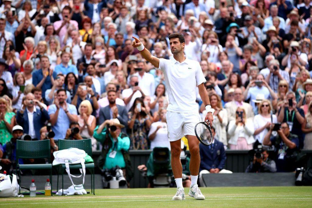Novak Djokovic, photo: Clive Brunskill/Getty Images