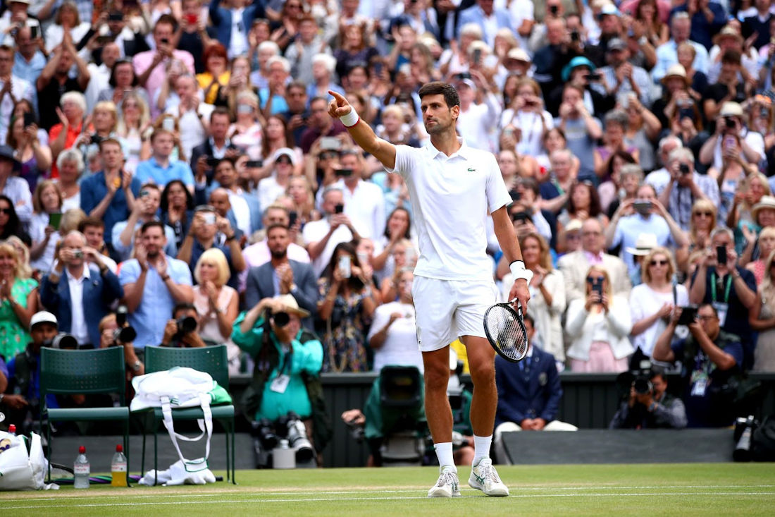 Novak Đoković, foto: Clive Brunskill/Getty Images