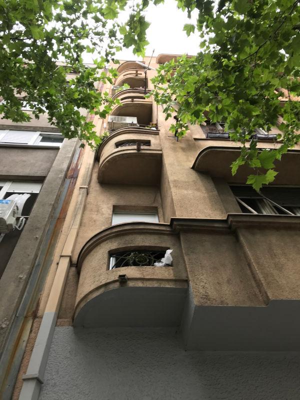 Zahumska 1, sa strane Bulevara, foto: Božidar Slapšak