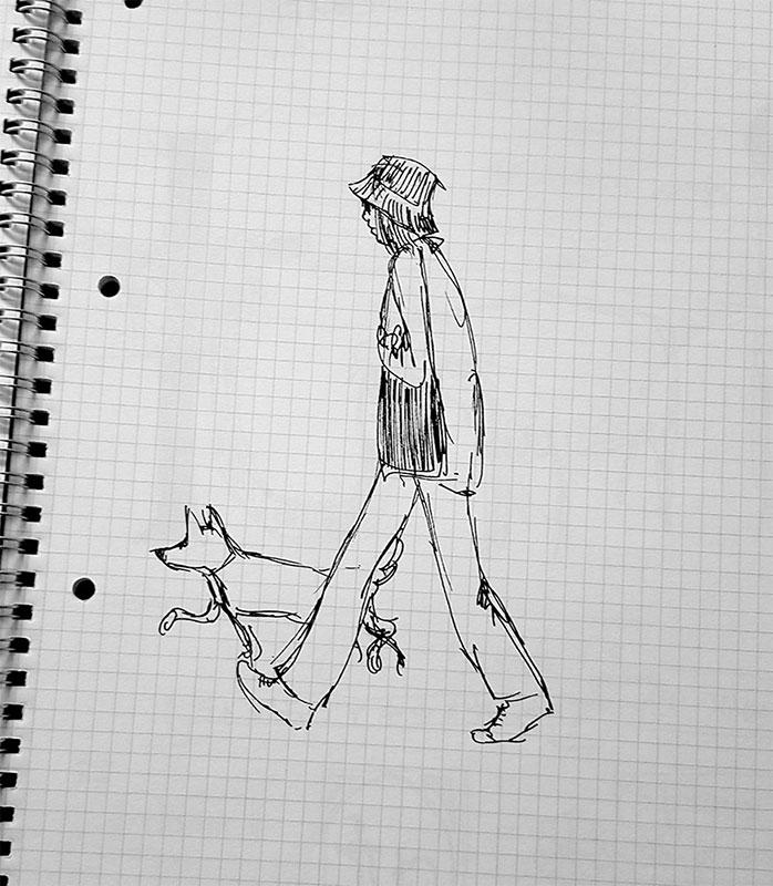 Crtež Majde Vojniković