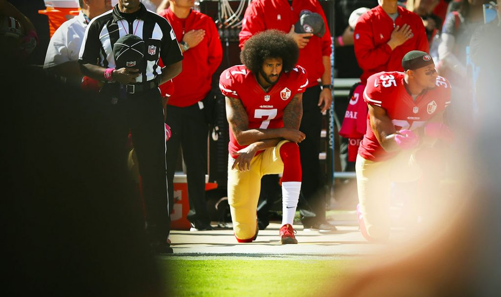 Colin Kaepernick, foto: Ezra Shaw/Getty Images