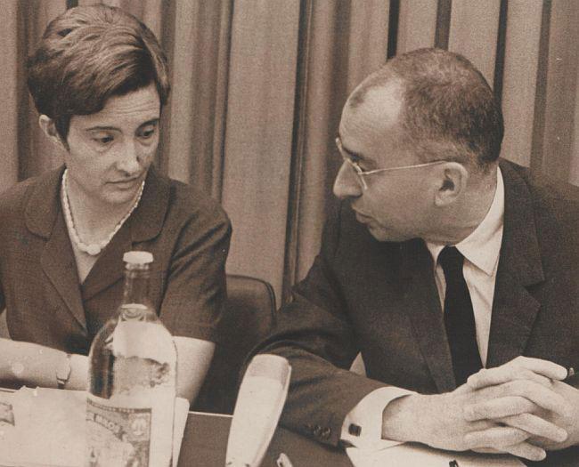Latinka Perović i Marko Nikezić, foto: Wikimedia/Stevan Kragujević