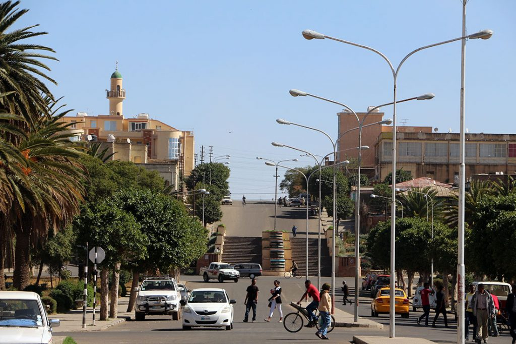 Asmara, Eritrea 2015, photo: Wikimedia/Sailko