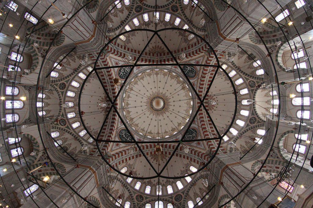 Glavna kupola Fatih džamije u Istanbulu, foto: Konstantin Novaković