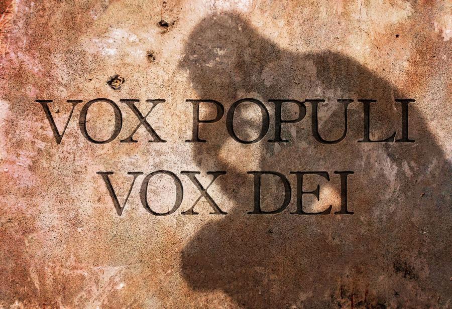 Glas naroda je božji glas, foto: Ideje