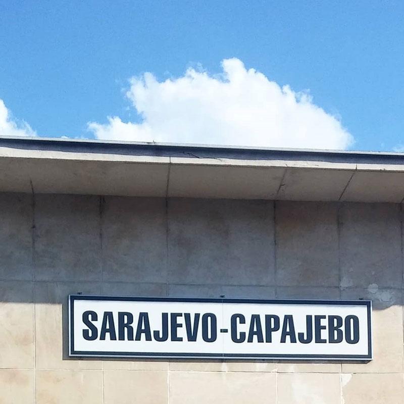 Željeznička stanica Sarajevo, foto: Ines Tanović Sijerčić