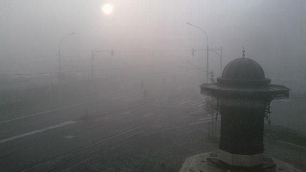 Sebilj česma, Beograd u nedelju 27. oktobra, foto: Jelena Mrgić