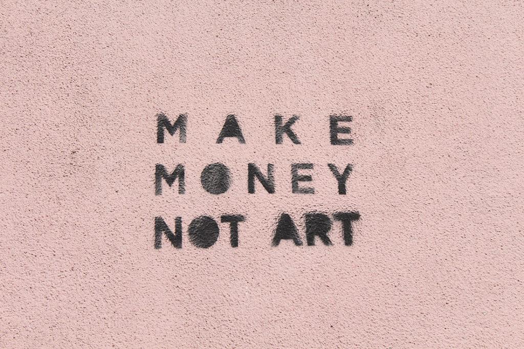 Pravi novac, ne umetnost, foto: Katarina Đekić