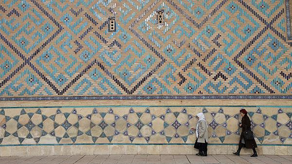 Sufi mauzolej u Turkestanu, Kazahstan, foto: Konstantin Novaković