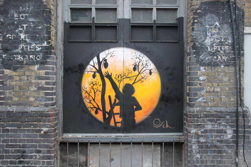 East London street art, foto: Miljana Radivojević