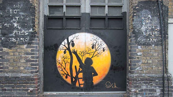 East London street art, foto: Miljana Radivojević