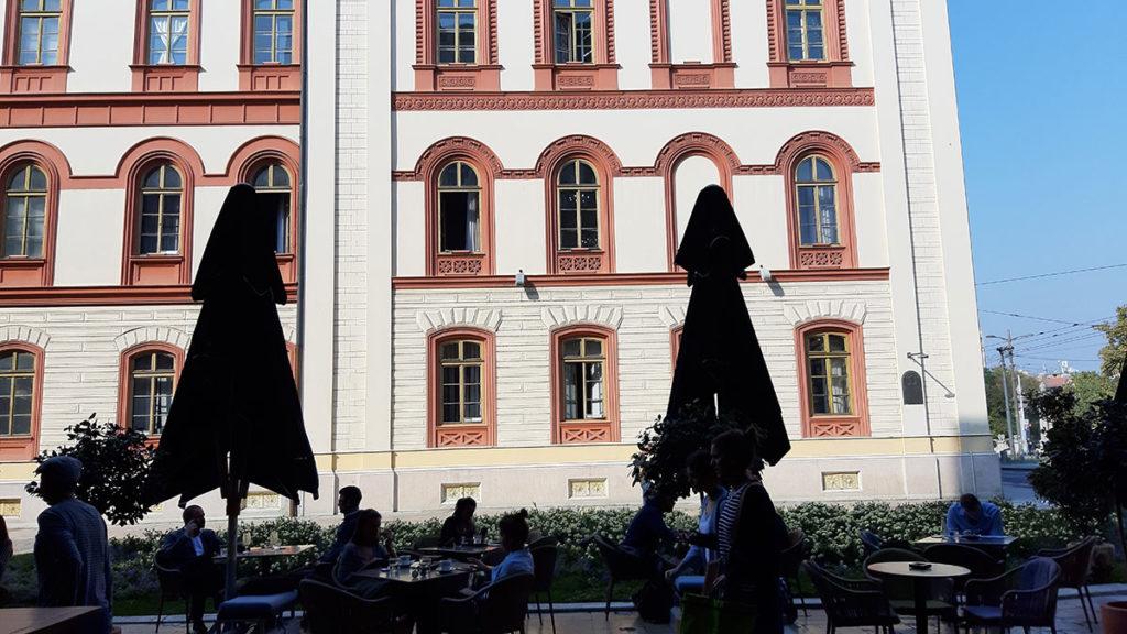 Rektorat, foto: Peščanik