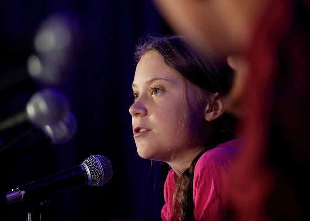 Greta Thunberg, foto: Shannon Stapleton/Reuters