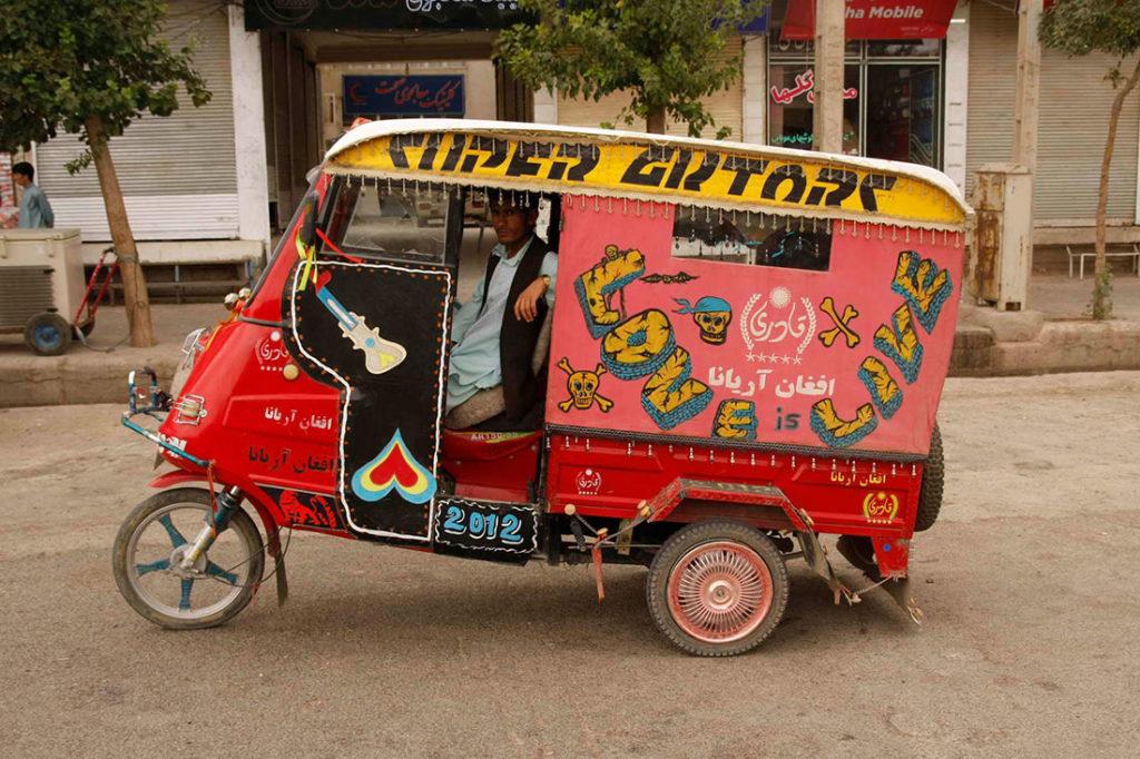 Autorikša, Herat, Avganistan, foto: Konstantin Novaković