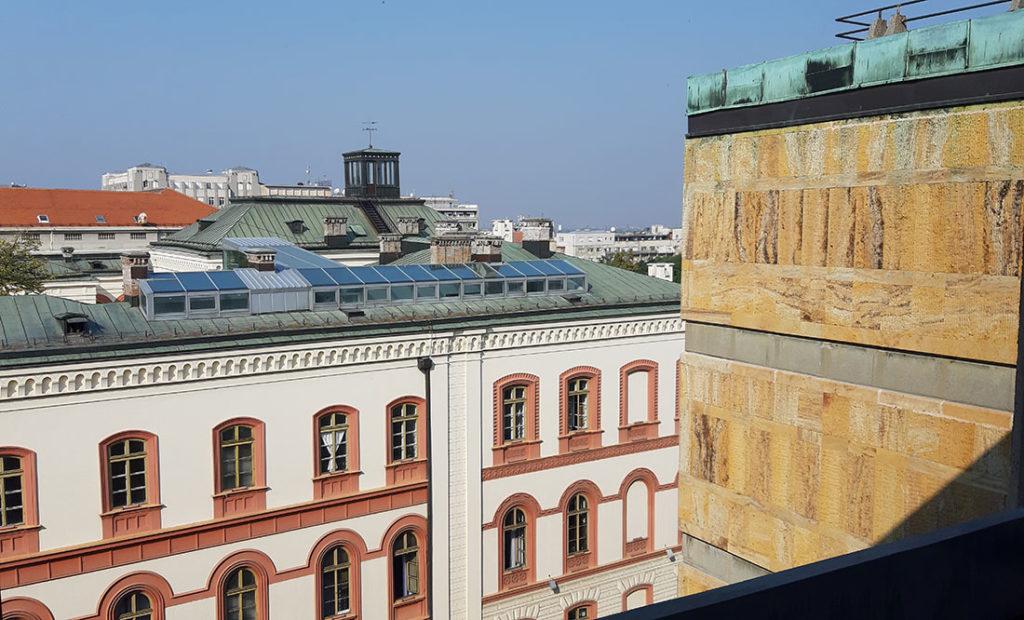 Krov Rektorata, foto: Peščanik
