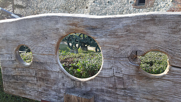 Kod Vojnog muzeja na Kalemegdanu, foto: Peščanik