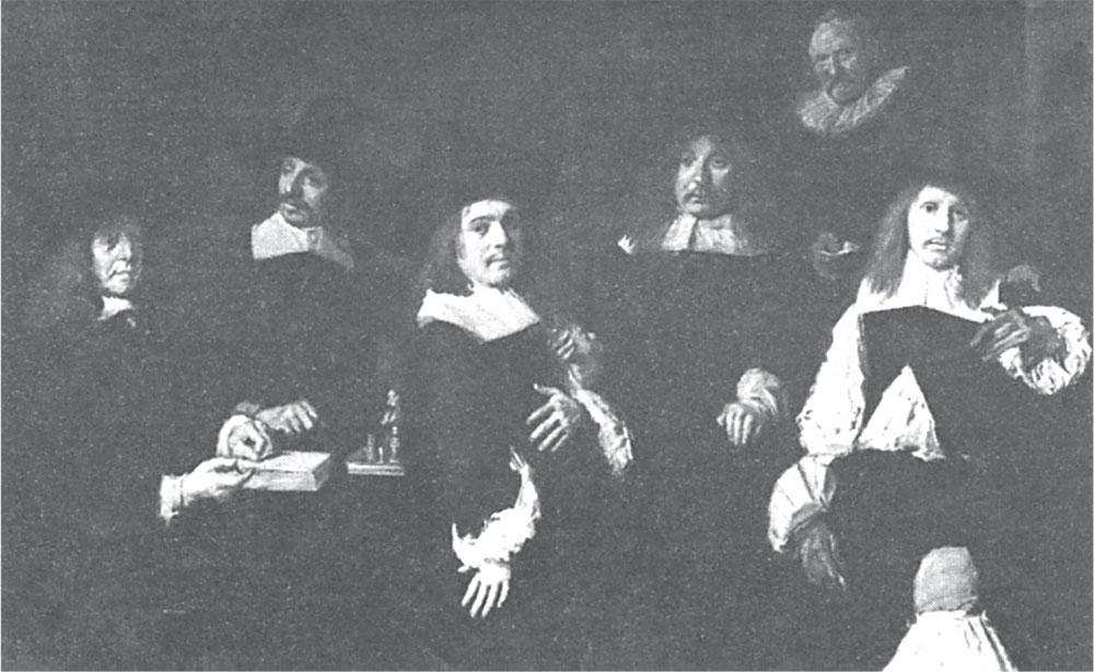 Regenti sirotinjskog staračkog doma, Frans Hals