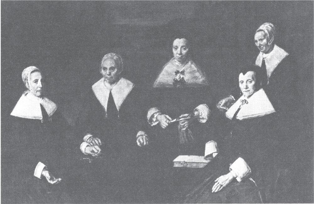 Regentkinje sirotinjskog staračkog doma, Frans Hals