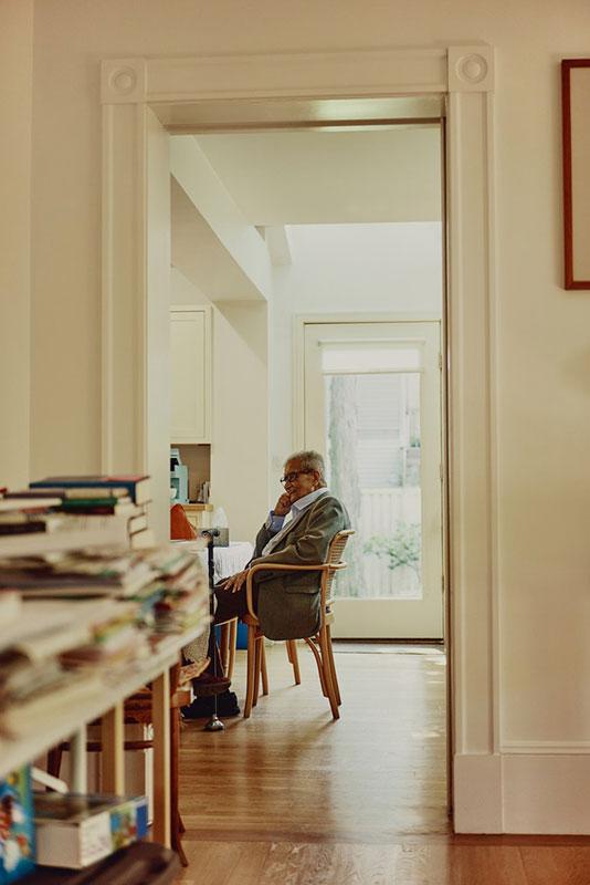 Amartya Sen, foto: Tony Luong za The New Yorker