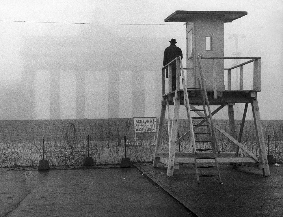Brandenburška kapija, 25.11.1961, AP, foto: Heinrich Sanden Sr