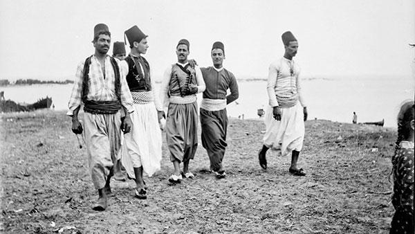 Ribari u Saint Jean d'Acre, tada otomanskoj Siriji, sada Izraelu, 1891.