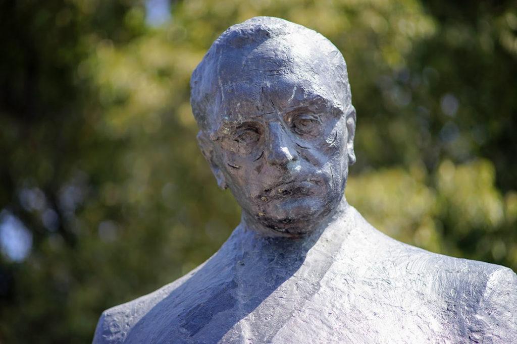 Spomenik Franje Tuđmana u Splitu, foto: Neda Radulović-Viswanatha