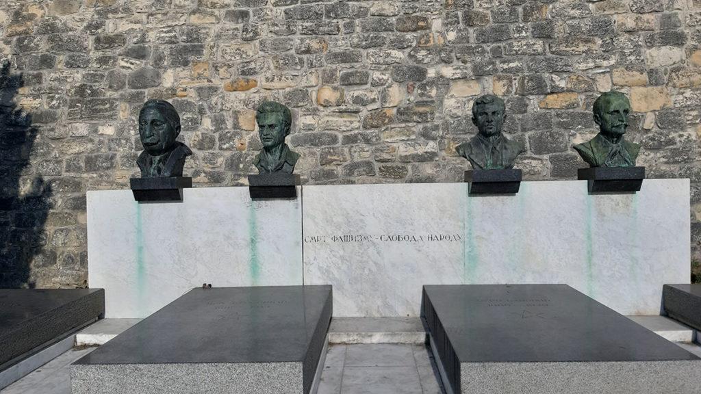 Moša Pijade, Ivo Lola Ribar, Đuro Đaković, Ivan Milutinović, foto: Peščanik