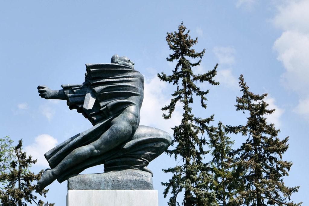 Spomenik zahvalnosti Francuskoj, Ivan Meštrović, Kalemegdan, foto: Rade Vilimonović