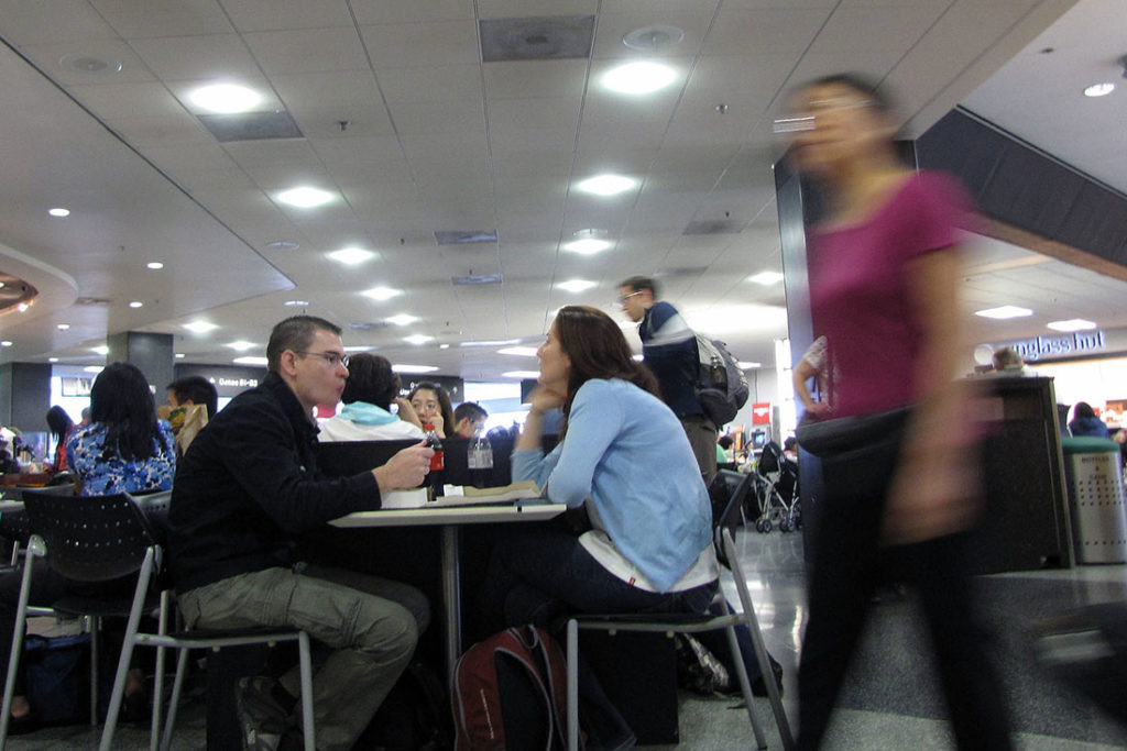 Airport life, foto: Rade Vilimonović