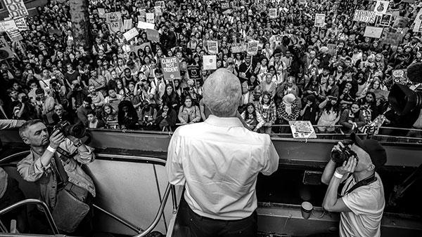 Jeremy Corbyn na klimatskim protestima u Londonu 20. septembra, foto: Sean Smith