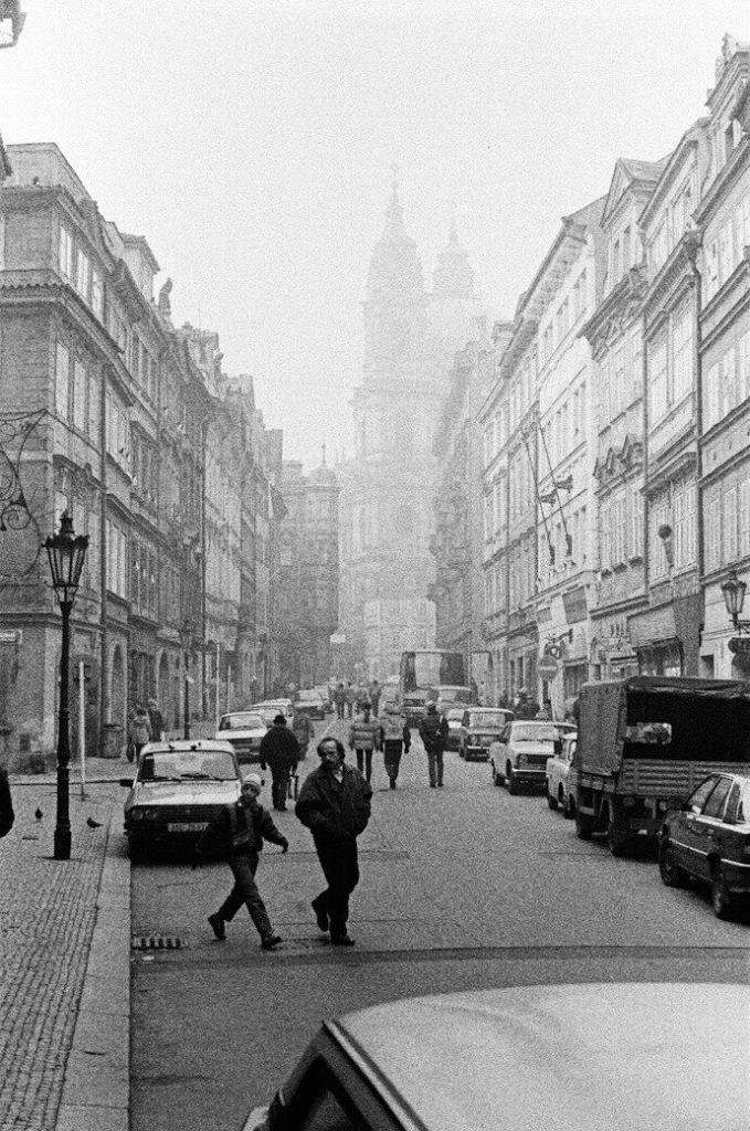 Prag, decembar 1989, foto: Srđan Veljović