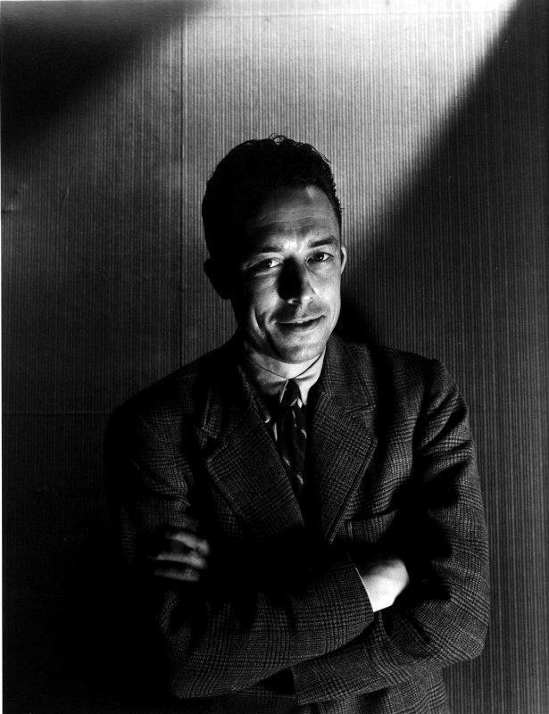 Albert Camus, 1946, foto: Cecil Beaton