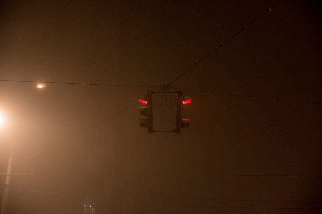Semafor u magli
