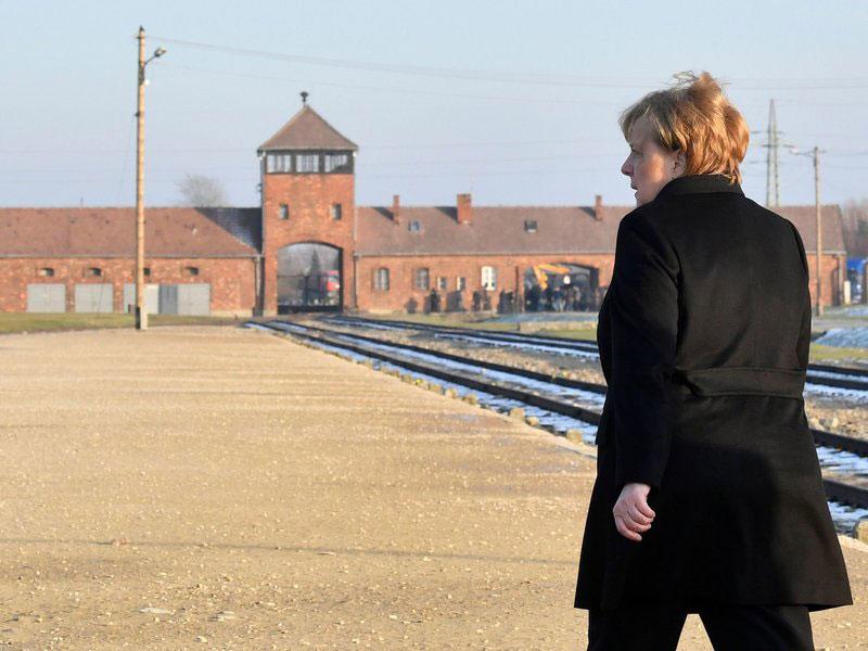 Prva poseta Angele Merkel Aušvicu, decembar 2019.
