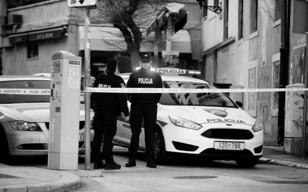 Split posle trostrukog ubistva, foto: Milan Šabić/PIXSELL