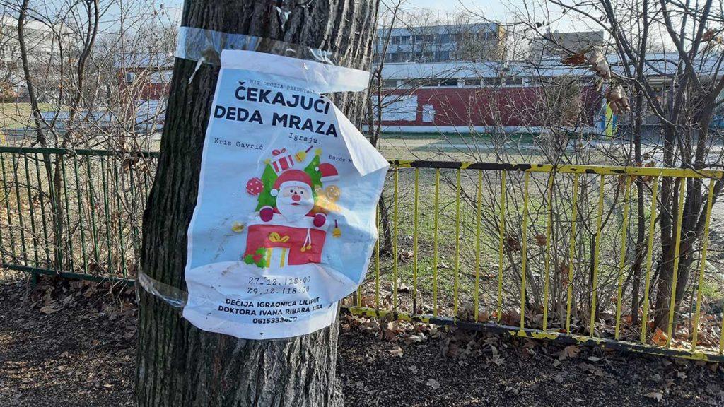 Plakat: Čekajući Deda Mraza