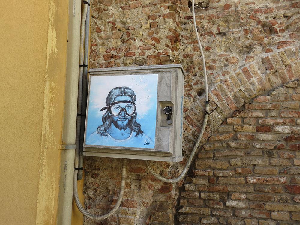 Isus u Raveni, Blub, foto: Peščanik