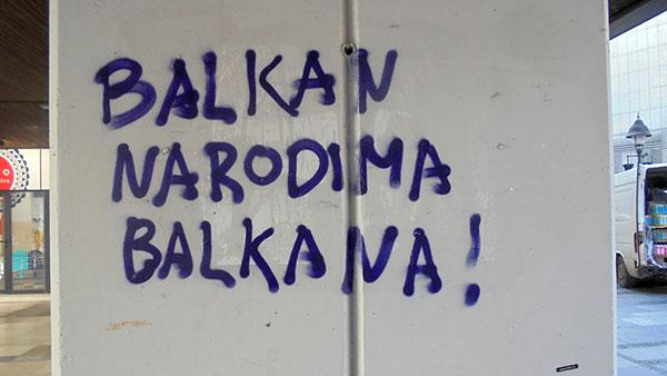 Balkan narodima Balkana!