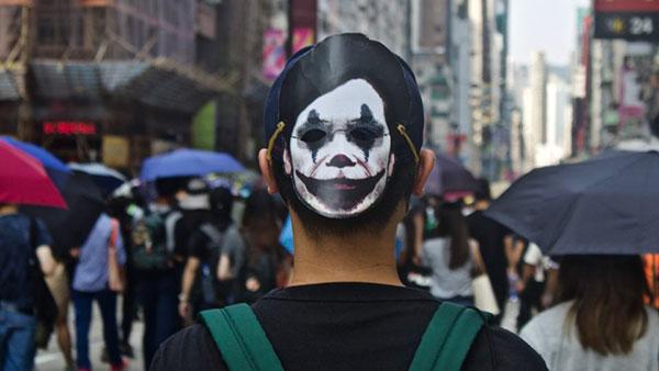 Sa protesta u Hong Kongu, oktobar 2019.