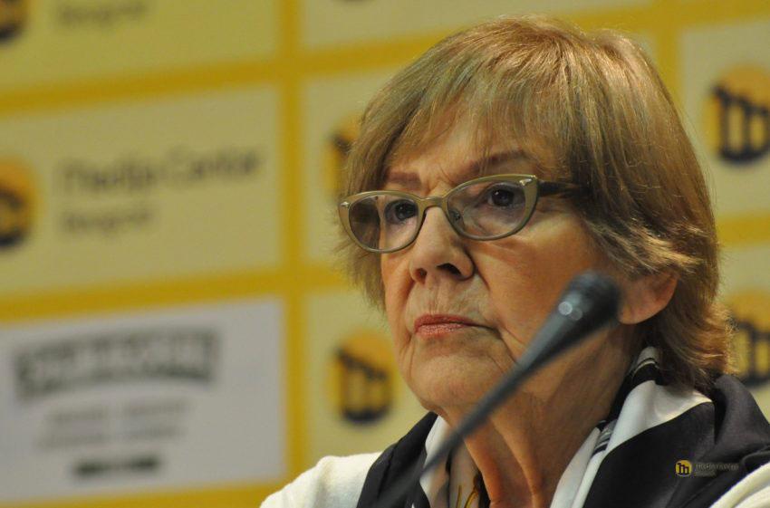 Vesna Pešić, foto: Medija centar