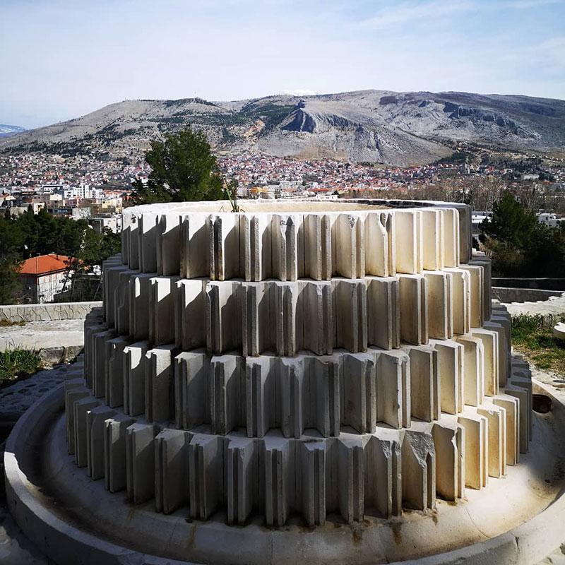 Partizanski memorijalni centar u Mostaru, foto: Ines Tanović Sijerčić