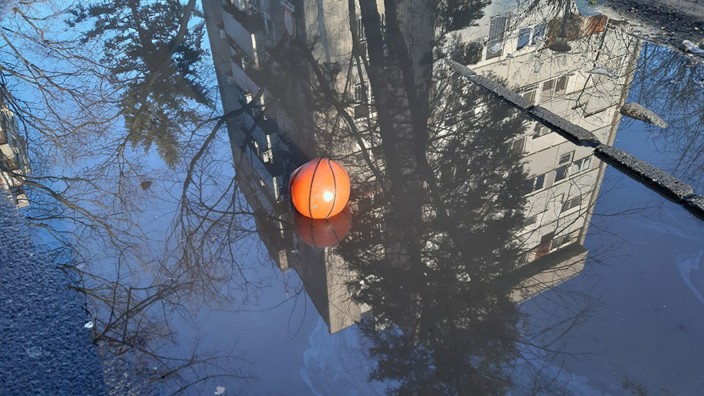 košarkaška lopta u bari